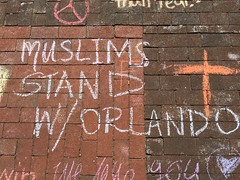 Chalking Our Pride & Sorrow & Strength & Love (Orlando): Muslims Stand With Orlando