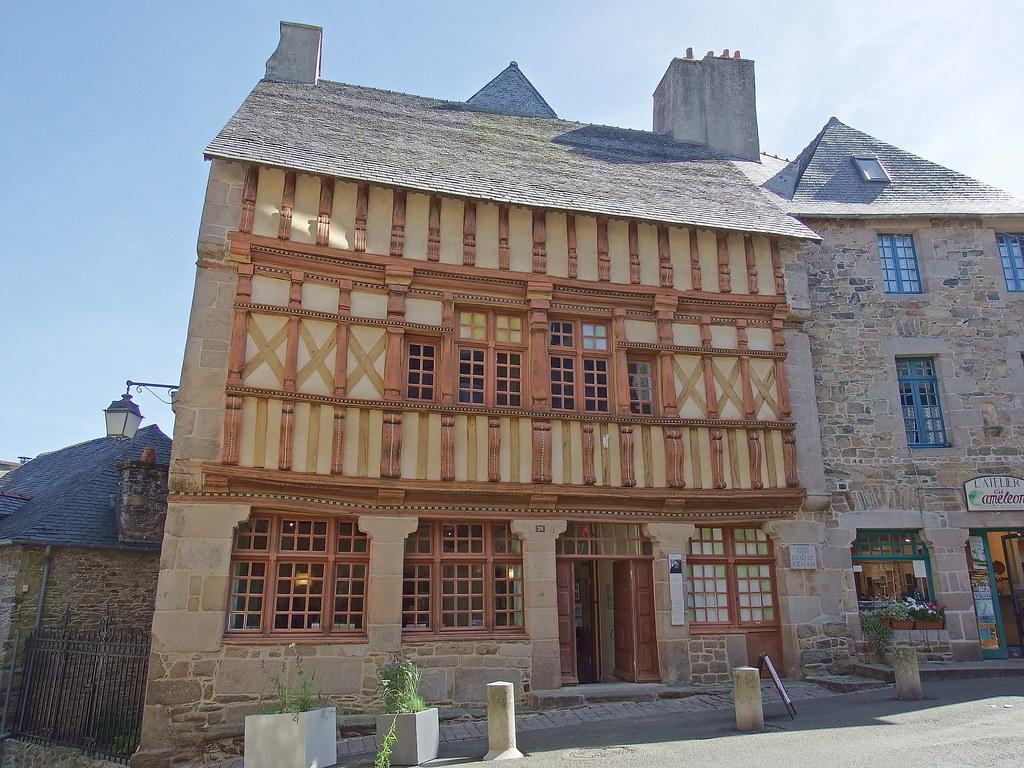 Architecte Cotes D Armor dscf7896 la maison d'ernest renan, tréguier (côtes-d'armor