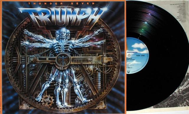 """TRIUMPH THUNDER SEVEN 12"""" LP"""
