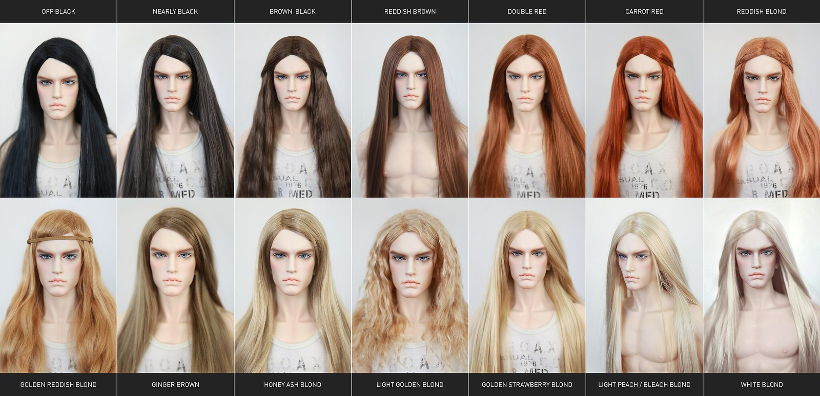 Color chart for wigs - Color Chart For Wigs 32