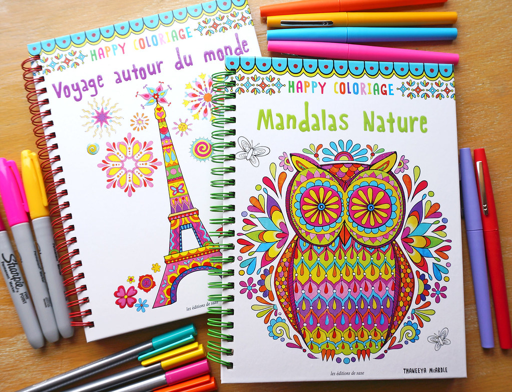 Happy Coloriage Coloring Books By Thaneeya McArdle