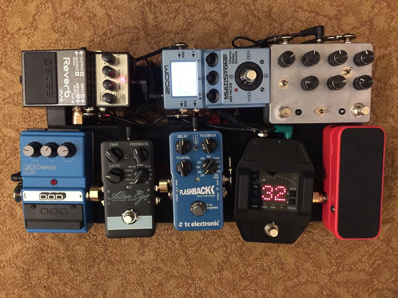 post your small yet versatile pedalboard page 14 the gear page. Black Bedroom Furniture Sets. Home Design Ideas