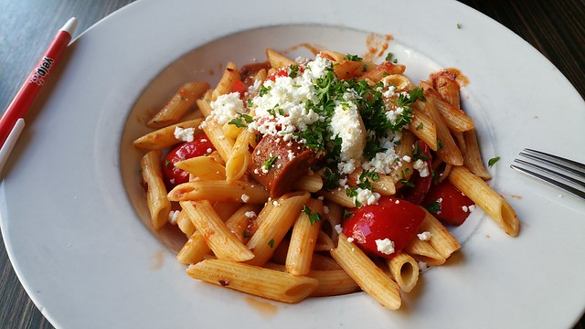 2016-Sep-20 - Basil Pasta Bar (davie) - Penne Arrabiata
