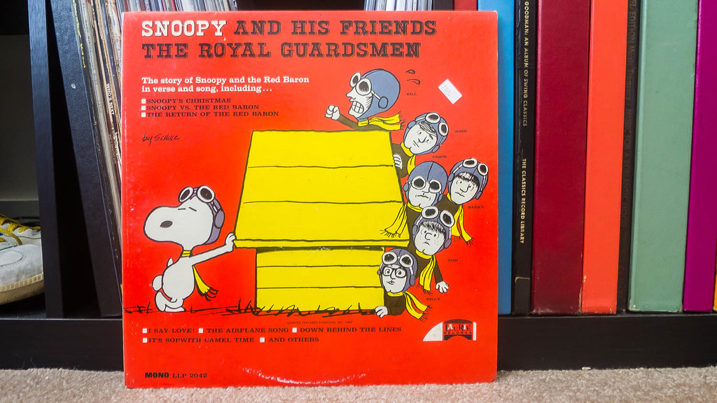 snoopy and his friends the royal guardsmen by johnnytreehouse
