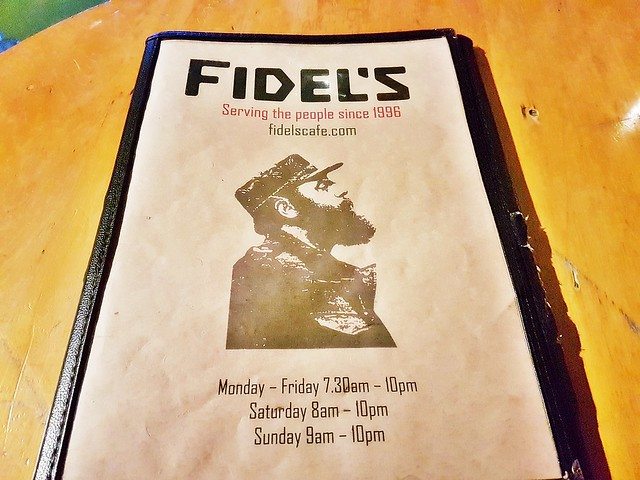 Fidel's Cafe Menu & Operating Hours