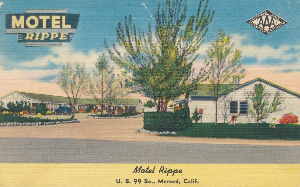 Motel Rippe - Merced, California