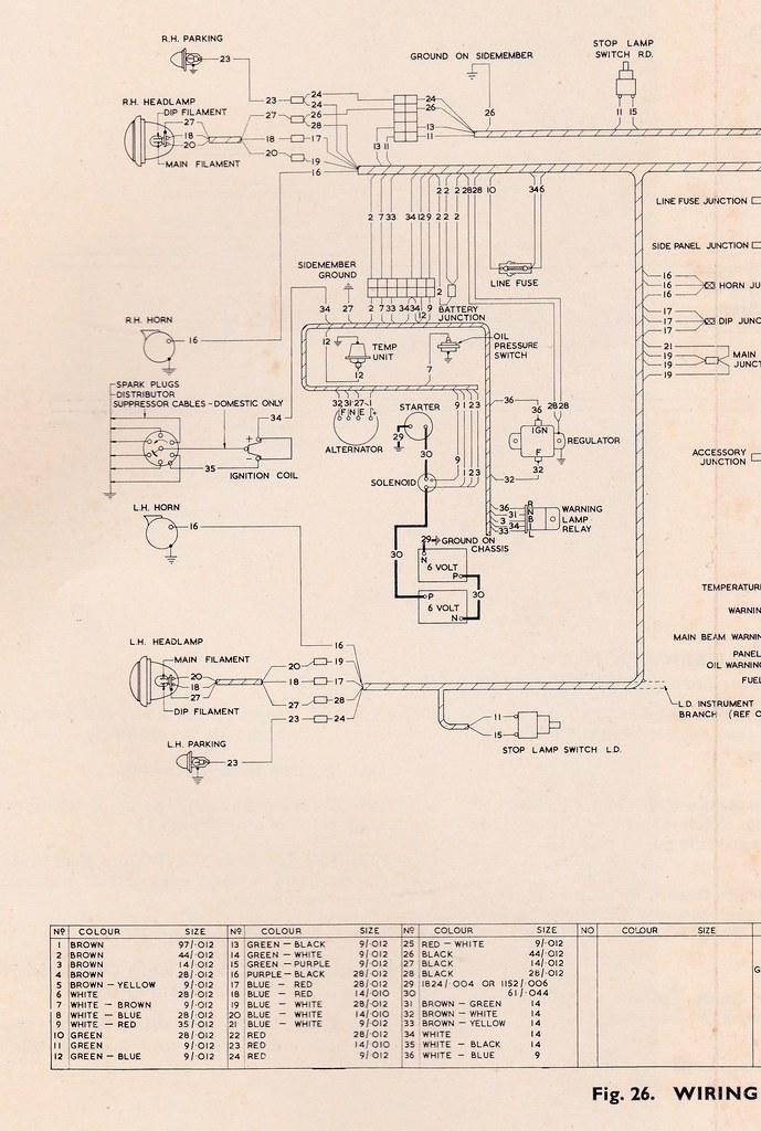 B Bedford Vam Wiring Diagram 1 For Bedfo\u2026 Flickrrhflickr: Bus Wiring Diagrams At Taesk.com