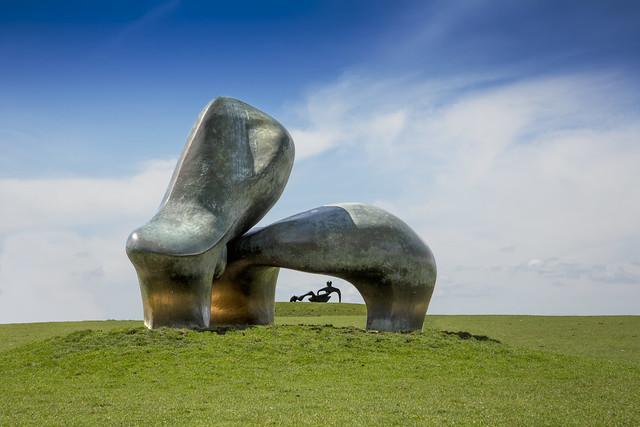 Looking In To Henry Moore