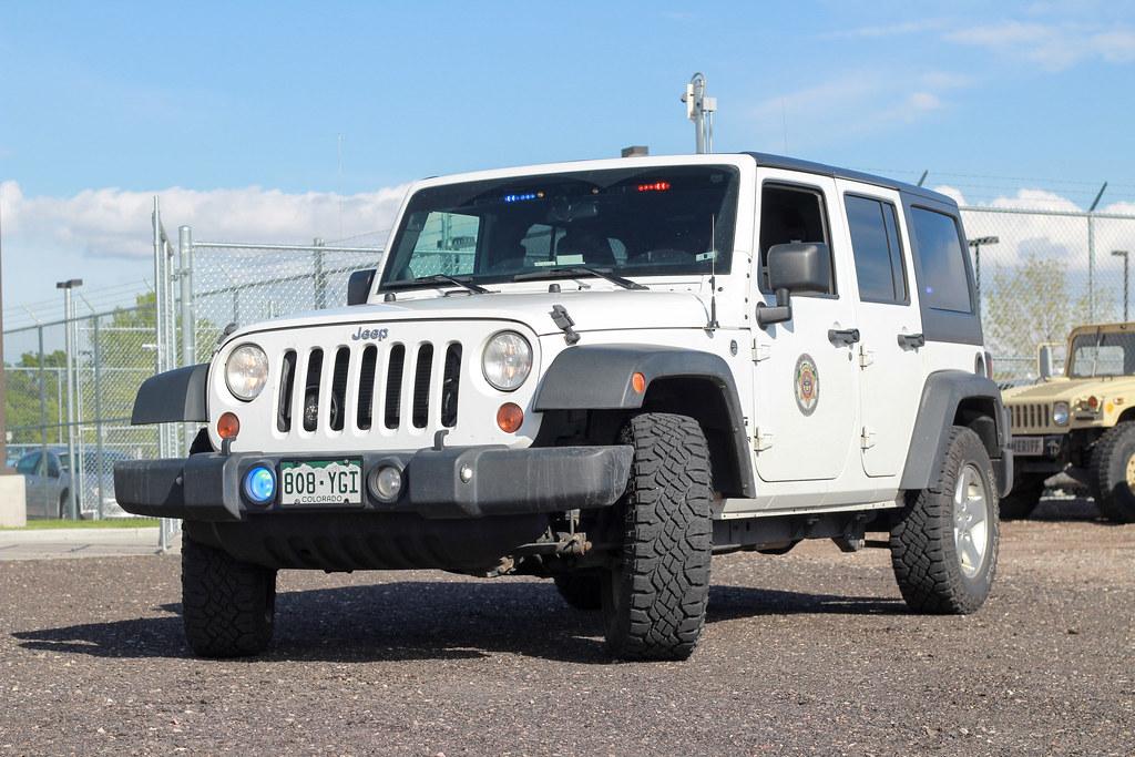 Larimer County Sheriff's Jeep Wrangler | The Jeep Wrangler u