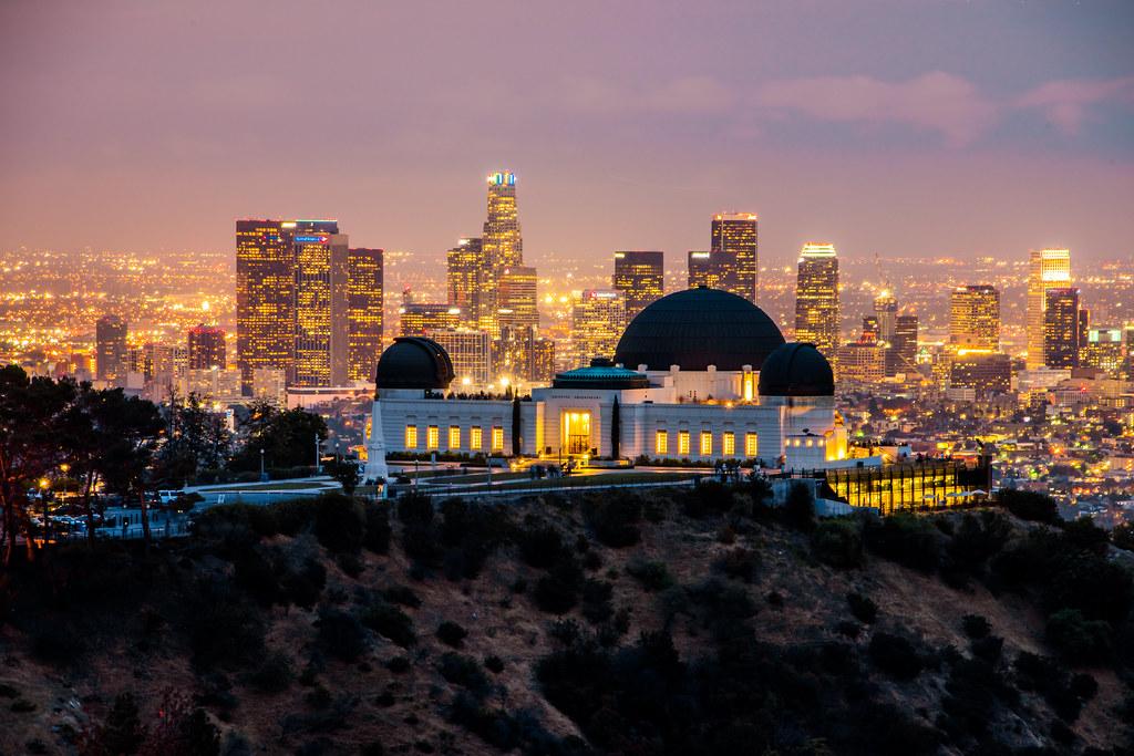 Sunset & Dusk The Griffith Observatory & Los Angeles Skyline Nikon D810 HDR  Landscape Photos! - Sunset & Dusk The Griffith Observatory & Los Angeles Skyli… Flickr
