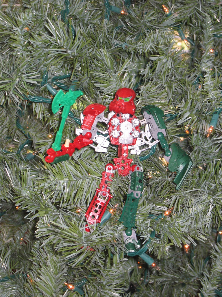Old Christmas BIONICLE Moc. | This is the first BIONICLE moc… | Flickr