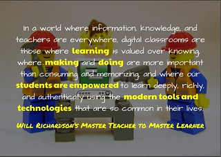 Master Teacher to Master Learner @willrich45 | by mrkrndvs