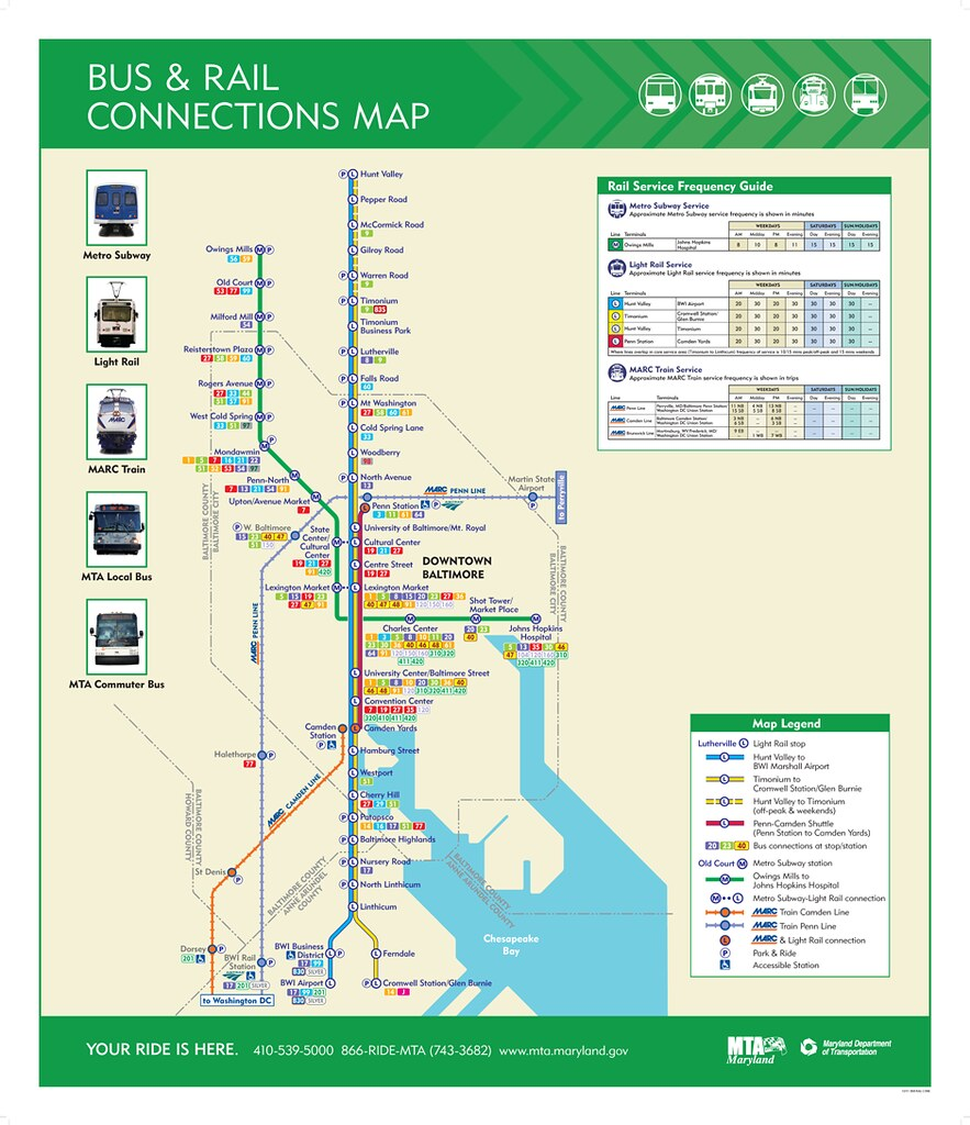 mta transit map for baltimore | richard layman | flickr
