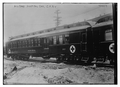 Military Hospital Car, C.P.R'Y. (LOC) | by The Library of Congress