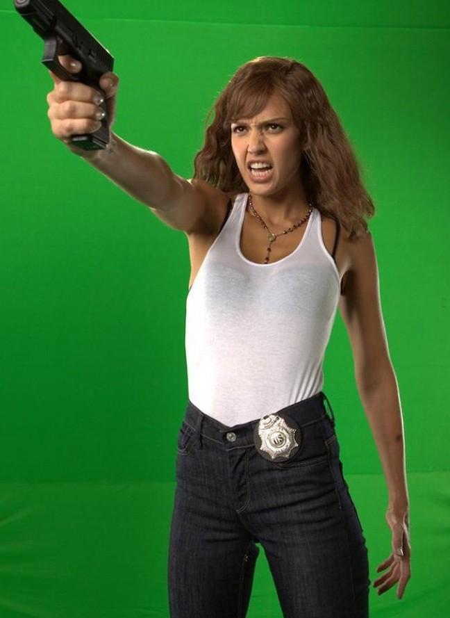 machete Jessica alba