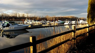 Ladner on the Phone: RiverHouse Marina | by Vince Alongi