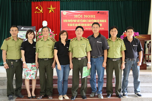 Animals Asia with the Forest Protection Department