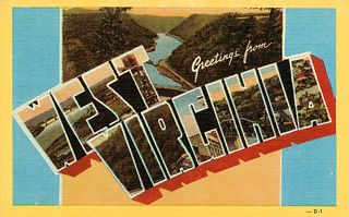 Greetings from West Virginia - Large Letter Postcard | by Shook Photos