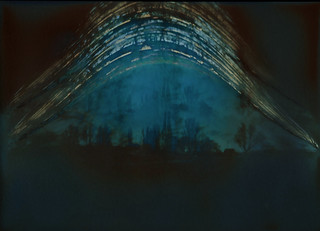 double pinhole solargraph | by auspices