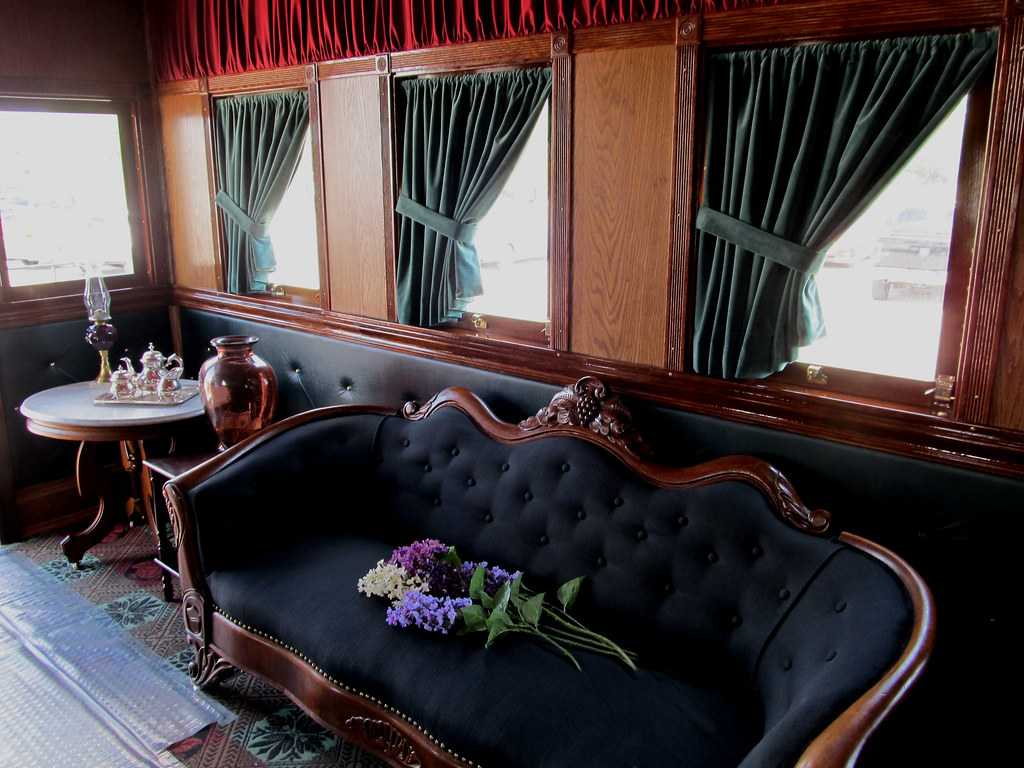 Abraham Lincoln Funeral Train Car Replica Wellington Oh Flickr