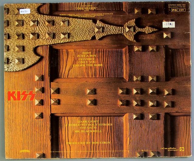 """KISS MUSIC FROM THE ELDER FOC GATEFOLD 12"""" LP VINYL"""