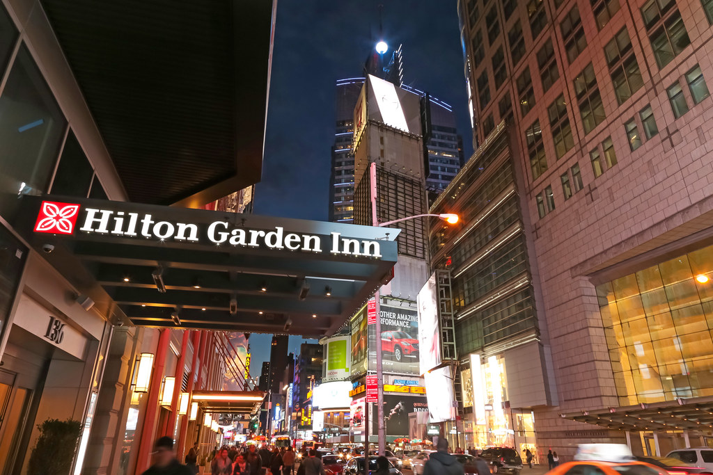 hilton garden inn times square central new york city usa by meteorry - Hilton Garden Inn Time Square