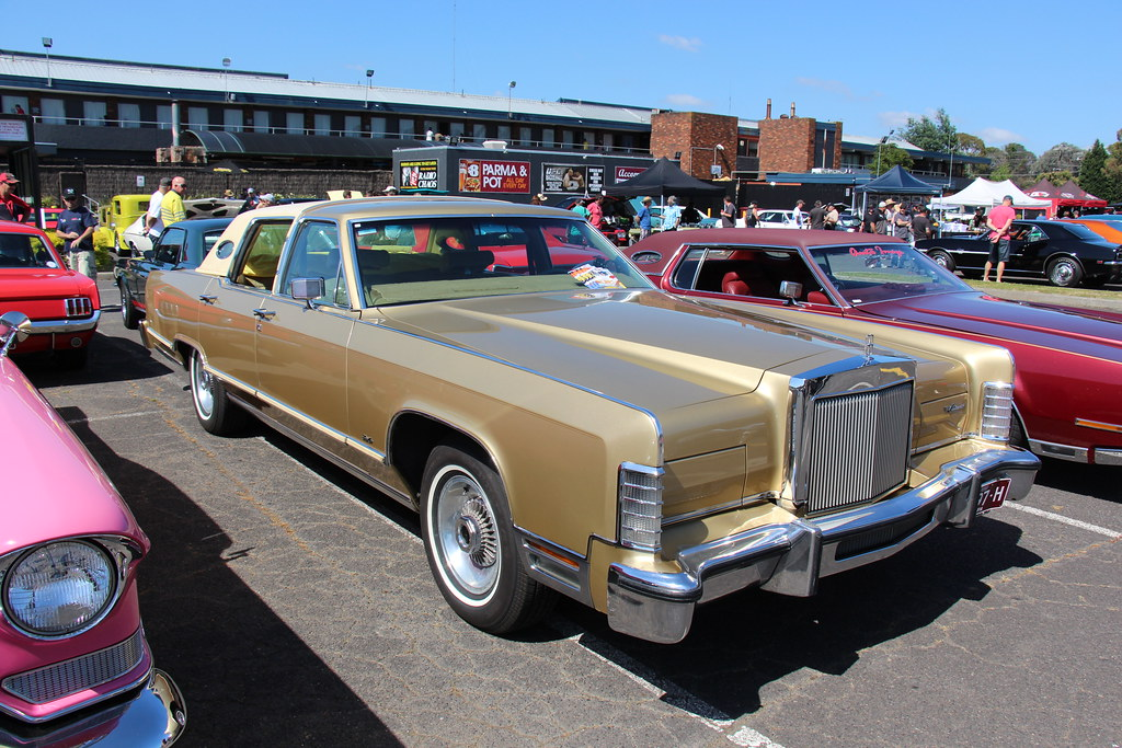 1978 Lincoln Continental Town Car The Lincoln Motor Compan Flickr