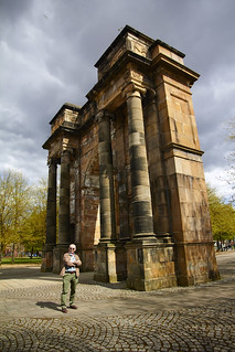 Glasgow Green and tourist spots