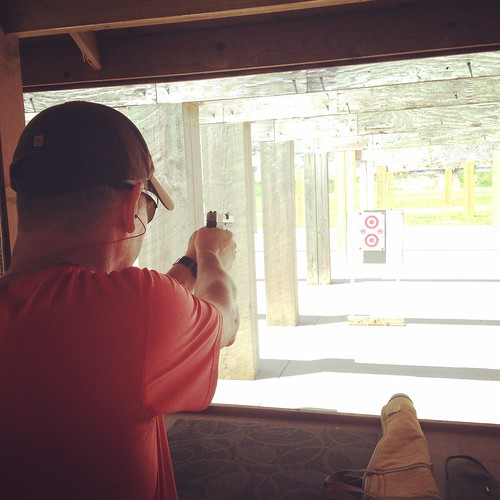 Shooting at the Andy Dalton Range in Bois D'Arc, Missouri