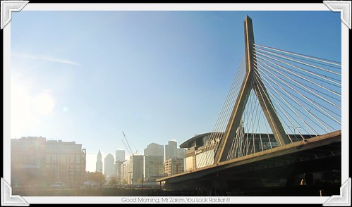 Good Morning, Mr. Zakim, You Look Radiant!