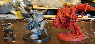 Converted Orruk Megaboss Size Comparison | by miteyheroes