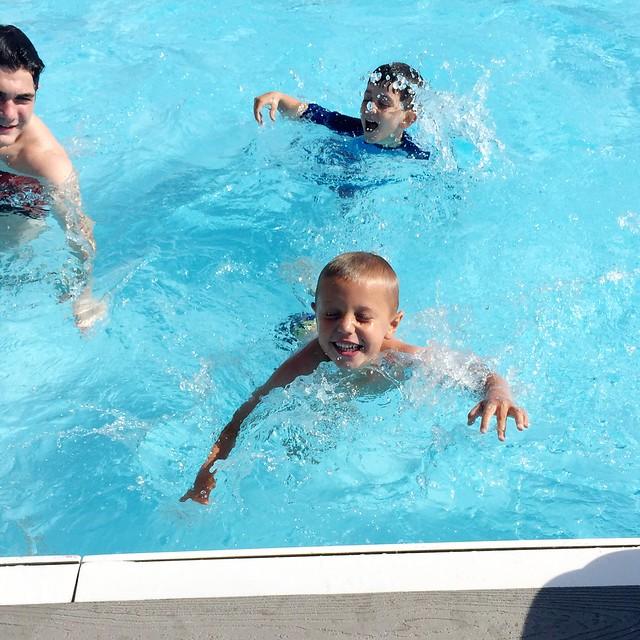 Gentleman Swimming Lessons