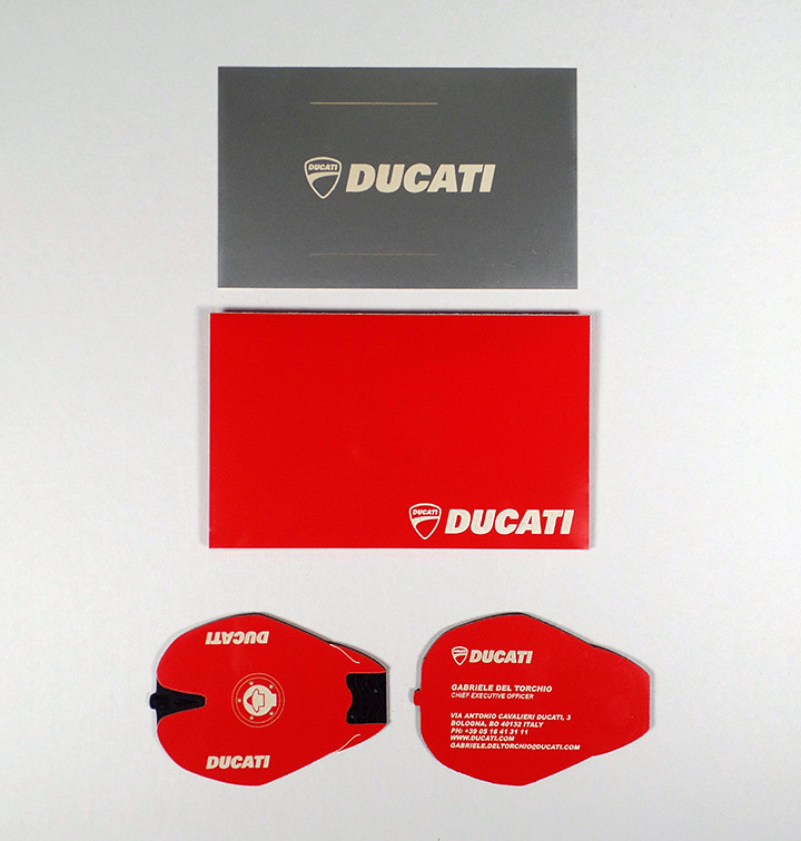 Ducati laser cut business card | b-type design | Flickr