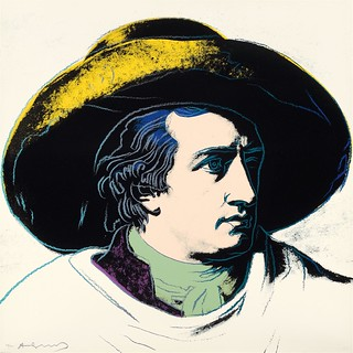 Andy Warhol - Goethe [1982] | The source for Andy Warhol's ...