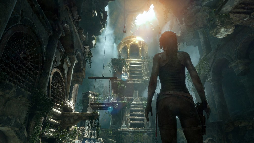 Rise of the Tomb Raider para PS4 anuncio