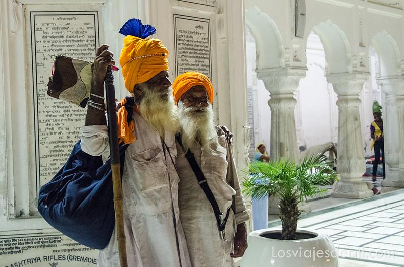 sijs en el templo dorado de los sijs