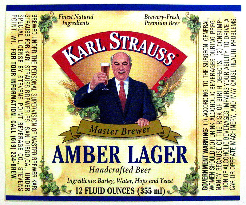 strauss-amber-label