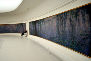 Security Guard & Monet's Waterlilies | by Tom Hilton