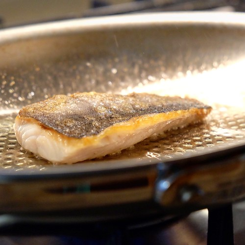 Pan Seared Black Cod With Miso Butter And All Clad D3 Armor Fish Pan Giveaway