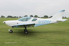 G-CFNV - 2009 build CZAW Sportcruiser, taxiing for departure at Sywell during AeroExpo 2014