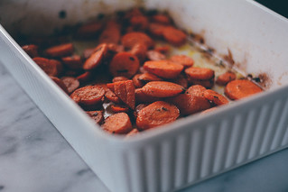 roasted carrots with cumin + tarragon | by little city nest