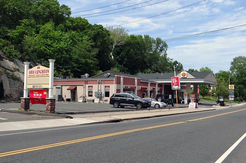 Shelton, CT: Bridgeport Avenue Shell CPU | by PMCC Post Office Photos