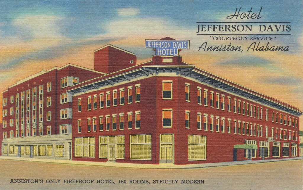 Hotel Jefferson Davis - Anniston, Alabama