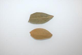 06 - Zutat Lorbeerblatt / Ingredient bay leaf
