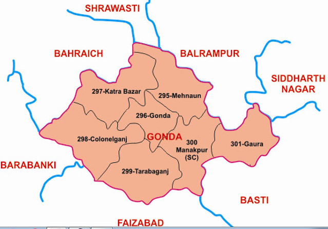 Gonda district Uttar Pradesh Election 2017