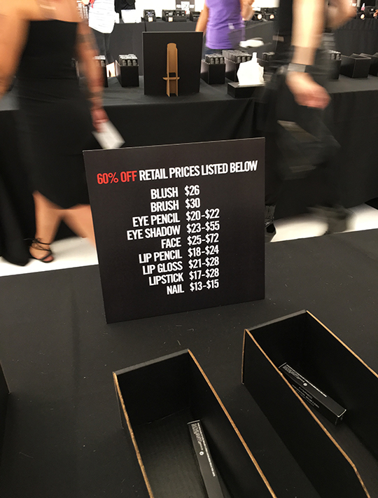 M. A. C. Cosmetics' first-ever sample sale hits nyc aol lifestyle.