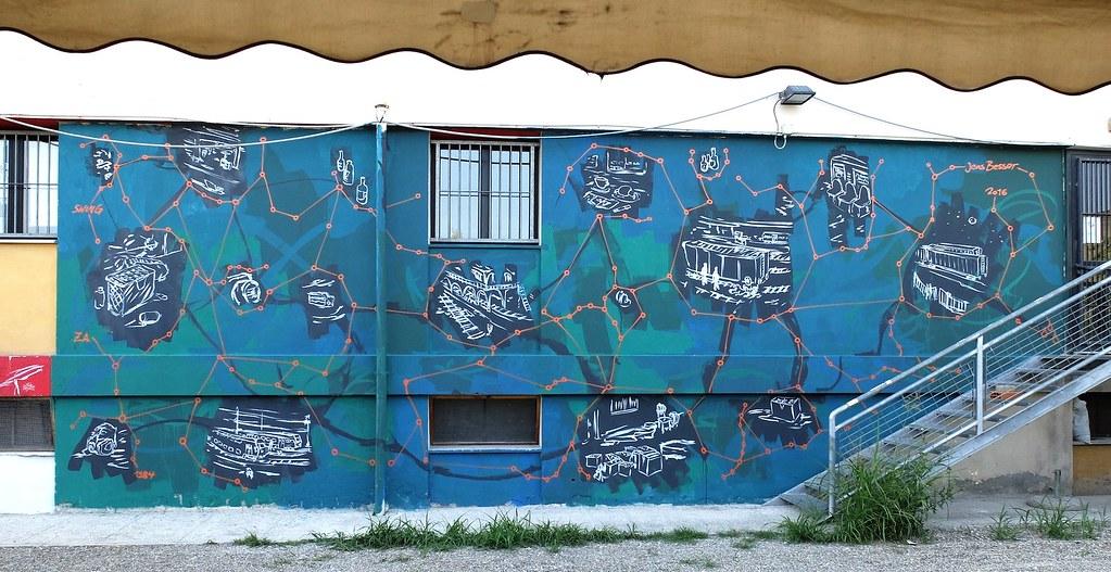 Mural in Modena