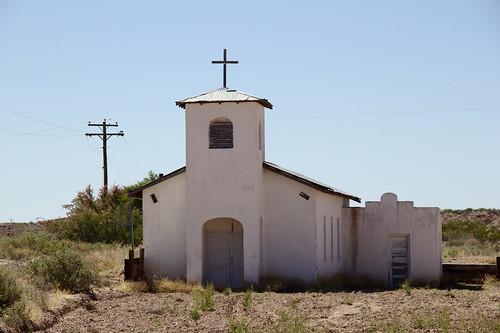 San Isidro Mission, Las Palomas, NM