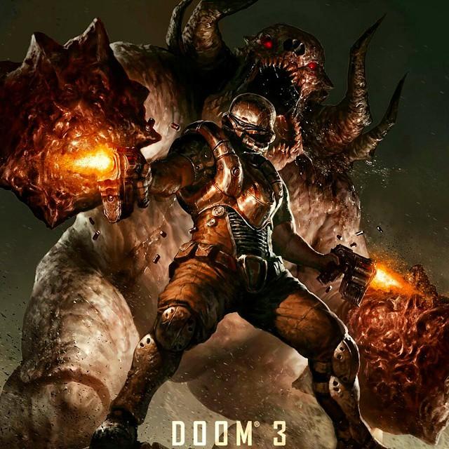 Doom 3 Xbox 360 1080P Gameplay Part04