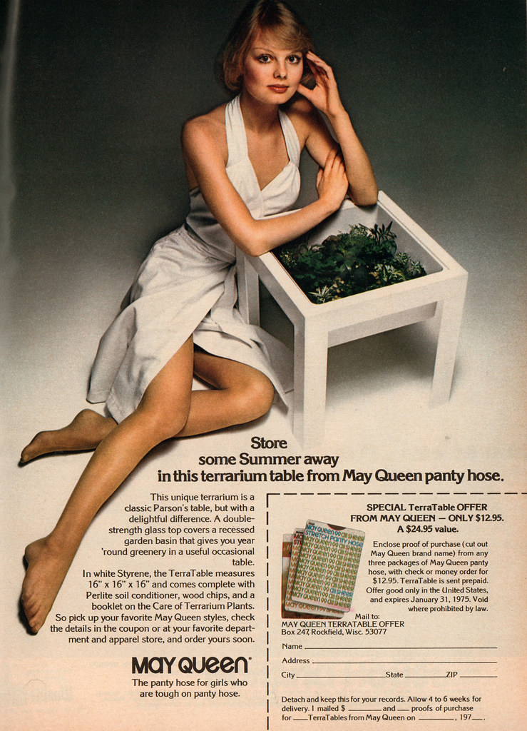 Are Magazine pantyhose ads suggest you